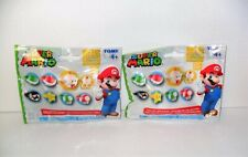 TOMY SUPER MARIO COLLECTOR'S RING LOT OF (2) BLIND BAGS PACK