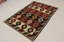 ESCLUSIVO NOMADI kilim fine PEZZO UNICO persiano tappeto Orientale 2,43 x 1,70