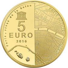 EUR, France, Monnaie de Paris, 5 Euro, Orsay - Petit Palais, 2016, FDC #98196