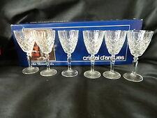 CRISTAL D'ARQUES 6 CRYSTAL LE VESINET GLASSES 60mls