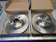 FORD TERRITORY TS TX GHIA 2WD 4WD 2004-2012 Front Disc Brake Rotors pair
