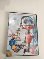 DVD  pinocho 3000 con carlos latre y lucrecia   como dobladores , 2dvd Disney