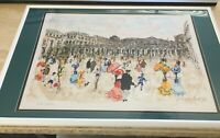 """Urbain Huchet, """"Le Louvre - Paris"""""""
