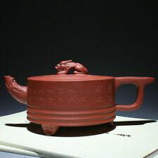 China 100% Handmade Yixing ZiSha Pottery QingShui NI dragon Teapot 350cc