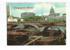 Postcard Singapore River      (A33)