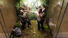 """Jungle Floor background Diorama for 6"""" 10"""" 12"""" Action Figure IKEA Detolf hot toy"""