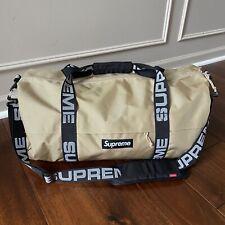 Supreme Duffle Bag SS18 Tan