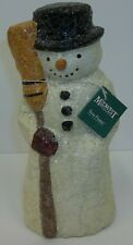 Midwest of Cannon Falls Teena Flanner Christmas Snowman Old World Figurine