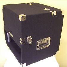 3/6/4 HE DJ-Workstation Winkelrack Kombicase Doppel CD Player & Mixer Case NEU