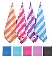 Microfibre Towel Travel Large Bath Camping Sports Beach Gym Yoga Quick Dry Towel
