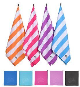 Microfibre Towel Travel Large Bath Camping Sports Beach Gym Yoga Quick Dry Towel