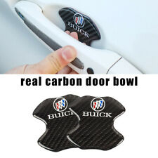 BUICK Real Carbon Anti Scratch Badge Door Handle Bowl Cover