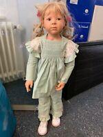 Heidi Plusczok Künstlerpuppe Vinyl Puppe 80 cm. Top Zustand
