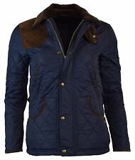 Polo Ralph Lauren NAVY BLUE BARN HAGAN SZ M MD NYLON QUILTED Women's Jacket $365