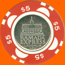 RAMADA EXPRESS $5 1988 CASINO CHIP LAUGHLIN NV - FREE SHIPPING