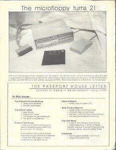 The Passport House Letter, July 1993, Apple II II+ IIe IIc IIgs
