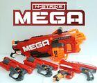 Nerf MEGA Gun Blaster Lot Of 5 Mastodon Cycloneshock Magnus Bigshock
