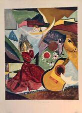 JAYAT Sandra- Estampe originale - Lithographie - La danseuse tzigane