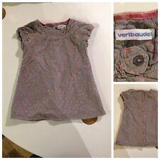 ++ Robe VERTBAUDET - Fille 12 mois (12M) - 74 cm - Superbe état ++
