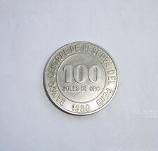 PIECE DE 100 SOLES DE ORO ( PEROU )