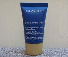 Clarins Multi-Active Night Targets Fine Lines Revitalizing Night Cream 15ml, New