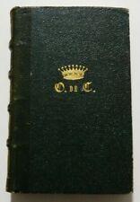 Libri antichi autografato in francese