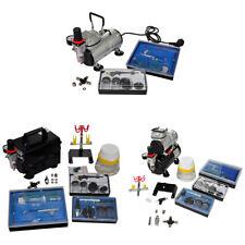 vidaXL Airbrush Profi Kompressor Komplett-Set mit Airbrushpistole 2/3 Pistolen