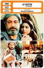 FICHE CINEMA : LE DESTIN - Youssef Chahine 1997 - Destiny  /  Al-massir