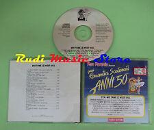 CD ROMANTICI SCATENATI 50 22A MUSIC HALL compilation 1994 MONTANDT RENAUD (C30*)