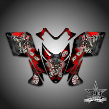 Polaris IQ RMK Shift Dragon Graphics Decal Wrap 2005-2012 Cowboy Outlaw Red