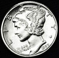 1927-p Mercury Dime.     High Grade  (INV.A)