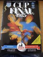 18/05/1985 FA Cup Final: Everton v Manchester United [At Wembley] . No obvious f