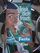 60/70s FANTA  orginal Reklameplakat wunderschön Cola Sprite Libella Afri 1
