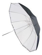 """GTX Studio 60"""" Silver/White Umbrella 10 Panels, Front Diffuser"""