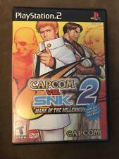 Capcom vs. SNK 2: Mark of the Millennium 2001 (Sony PlayStation 2, 2001) PS2