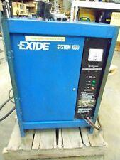 Forklift Battery Charger F Exide System 1000 Es1 06 450 B 12v 6 Cells 450ah