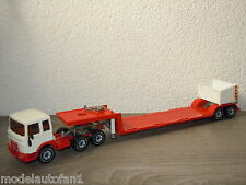 MAN & Low Loader van Siku Germany *6937