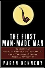 The First Man-Made Man: The Story of Two Sex Changes-ExLibrary