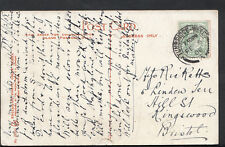 Family History Genealogy Postcard - Ricketts - Hill St, Kingswood, Bristol RF156