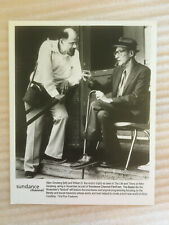 """""""Life & Times of Allen Ginsberg"""" with William S Burroughs original press photo"""