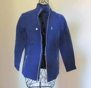 New Polo Golf Ralph Lauren Mockneck Taffeta Windbreaker Jacket size XS