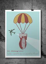 Dr. Strangelove - Stanley Kubrick Inspired Retro Film Movie Print Poster A3 Art