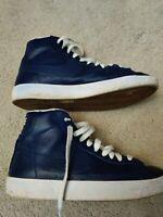 Nike Blazer Mid 77 Premium blue Kids (895850 400); Size 4.5Y