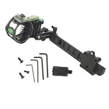 """Archery Bow Sight Lock Micro 5 Pin .019"""" Adjustable Compound Bow Long Pole"""
