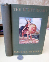 THE LIGHT HEART,1920,Maurice Hewlett,1st Edition