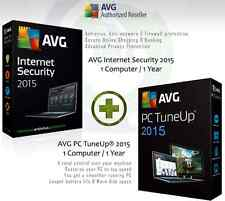 AVG Internet Security 2015 + AVG PC Tuneup® 2015 - 1 User 1 Year | License Only