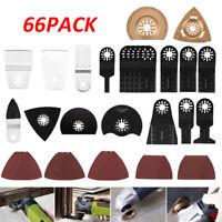 66 Pcs Multifunktionswerkzeug Zubehör Für Fein Bosch Makita Multitool Werkzeug