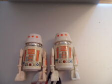 2x Vintage Star Wars R5D4 1978 & Variant R5D4 Small head 1977 excellent cond