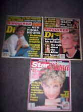 1997 NATIONAL ENQUIRER Tabloid- PRINCESS DIANA, Her Final Hours, 72-PAGE SPECIAL