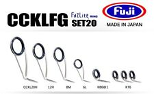 FUJI Fazlite ring CCKLFG KB6 Casting Rod Guides SET